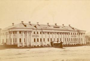 Бывший дом М.А. Устинова, ныне Саратовский Государственный Музей Краеведения