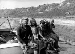 С корреспондентами программы.Село Кошели. 1970 год.
