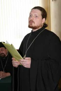 иереей Сергией Кляев