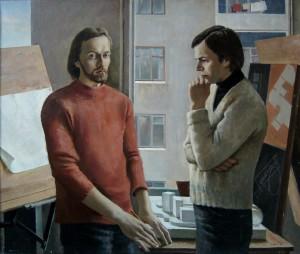 """В.Овчаренко. """"Молодые архитекторы"""""""